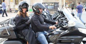 Taxi moto vers Roissy