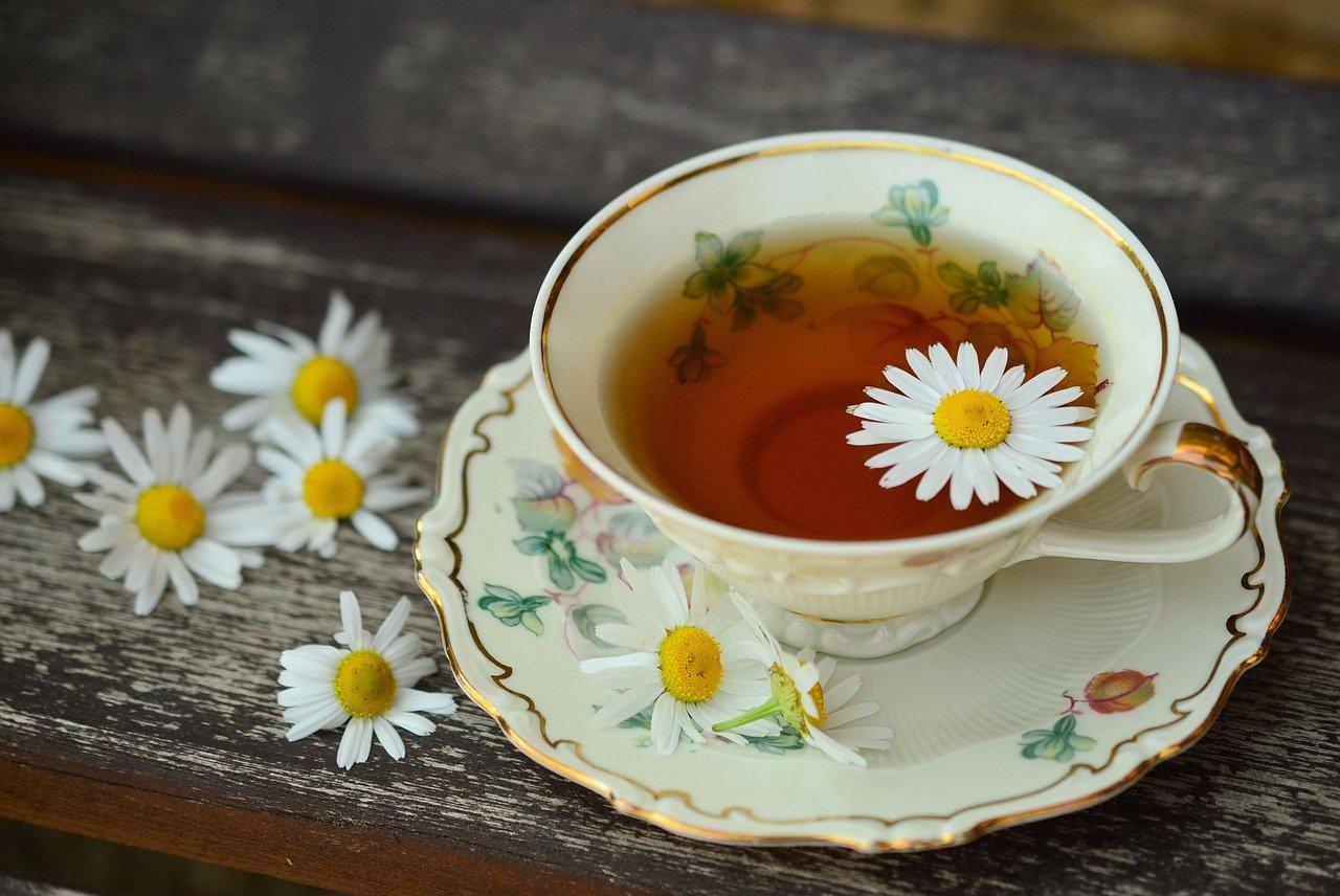 boire du thé